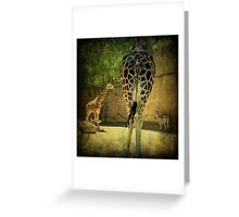 ~ The Long and Short of It ~ Greeting Card