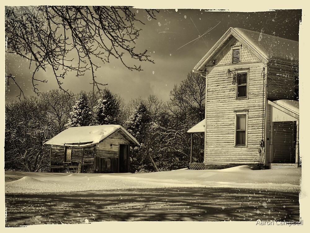 The Dilapidated Shed by Aaron Campbell