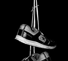 Hanging shoes by Brad Leue