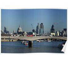 London Landscape - Colour Poster