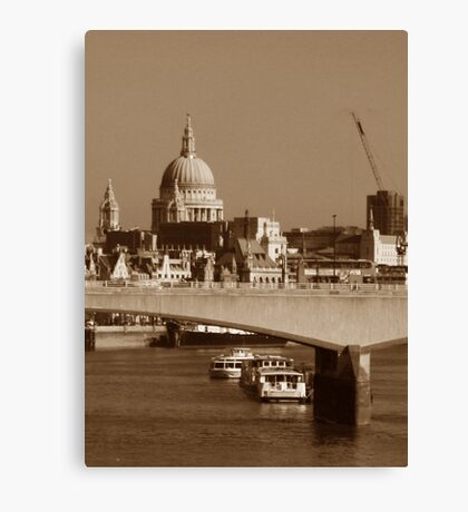 Urban Lanscape Canvas Print