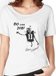 Julian Edelman  Women's Relaxed Fit T-Shirt