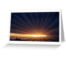 romantic light Greeting Card
