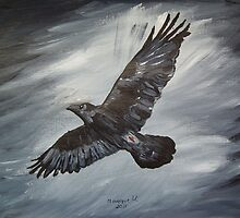 Black Raven.... by maggie326