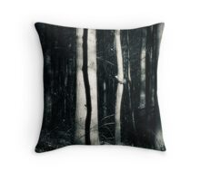 October in the Lou Campbell State Nature Preserve Throw Pillow
