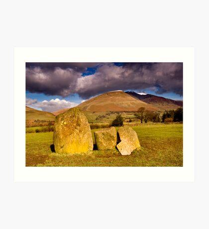 Castlerigg Stone Circle Art Print