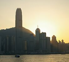 Towers in the sunset by robigeehk