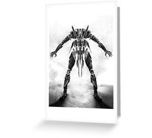 robo1 Greeting Card
