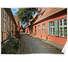 MVP62 Heilgeistkloster, Stralsund, Germany. Poster