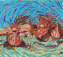 Onions, Inspired by Renoir by BCallahan