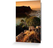 Badami Town V Greeting Card