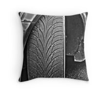 Fat meat on the road Throw Pillow