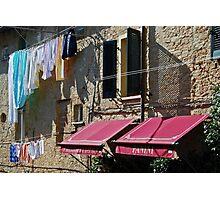 Panini-Volterra, Tuscany Photographic Print