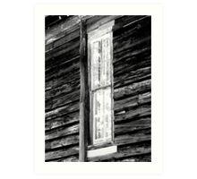 Tall, Skinny Window Art Print