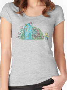 There's no place like home! Women's Fitted Scoop T-Shirt