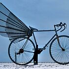 New Kind Of Transportation: Flying Bicycle by Svetlana Day
