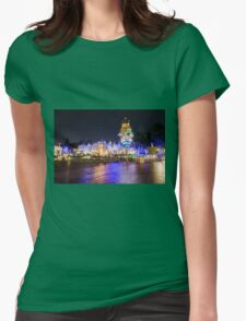 Amazing Small World Womens Fitted T-Shirt