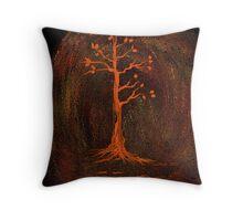 Seven Branches Throw Pillow