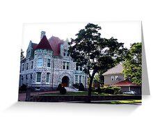 Oland Castle, Halifax Greeting Card