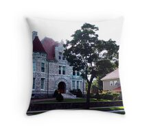 Oland Castle, Halifax Throw Pillow