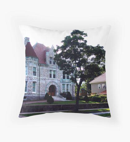 Oland Castle, Halifax Throw Pillow