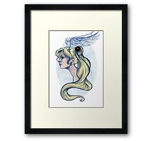 Usagi Framed Print