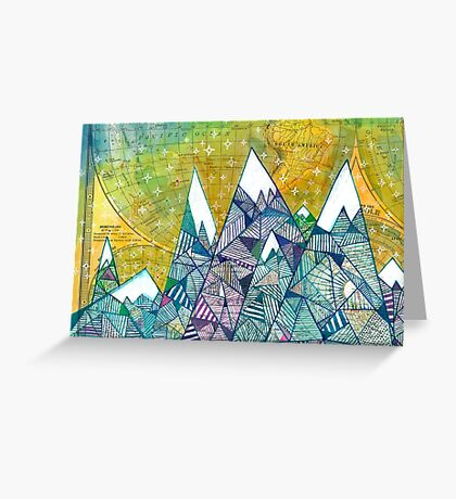 Mountainscape No. 3 Greeting Card