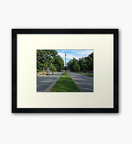 Halifax-Young Avenue Framed Print