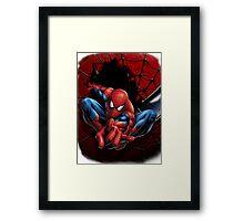 The Amazing Spidey Framed Print