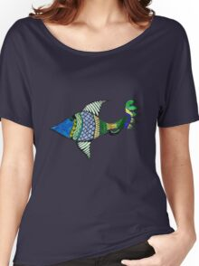 Fish Tale Women's Relaxed Fit T-Shirt