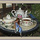 A spot of Tea or Tea  hits the spot?  by Sherryll  Johnson