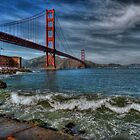 Golden Gate Bridge In Color HDR by Svetlana Day