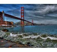 Golden Gate Bridge In Color HDR Photographic Print
