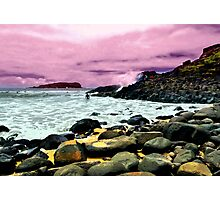 FINGAL BOULDERS Photographic Print