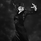 Flamenco dancer 6 by Aleksandar Topalovic
