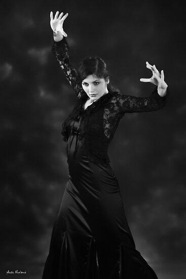 Flamenco dancer 6 by Aleksandar Topalovic