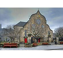 The Canongate Kirk Photographic Print