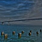 Bay Bridge In HDR by Svetlana Day