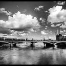 bridge - battersea power station by daveyt