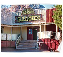 Saloon In Bonnie Springs Old Nevada Poster