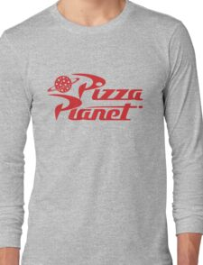 Pizza Planet shirt – Toy Story, Woody, Buzz Long Sleeve T-Shirt