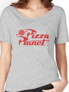 Pizza Planet shirt – Toy Story, Woody, Buzz Women's Relaxed Fit T-Shirt