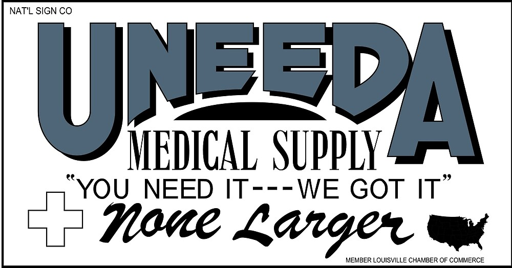 Uneeda Medical Supply (Return of the Living Dead) by Pat David
