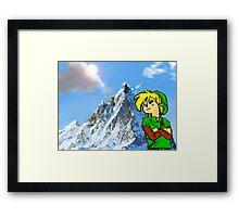 Ain't no Death Mountain High Enough Framed Print