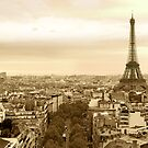 Paris Cityscape by sumners