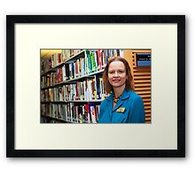 Librarian 2 Framed Print