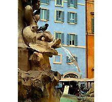 Pantheon Fountain - Rome Photographic Print
