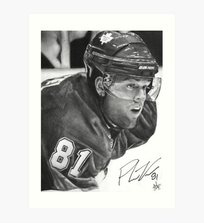 Phil Kessel Art Print