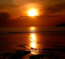 St Davids Sunset - Pembrokeshire, Wales by Daniel Warner-Meanwell