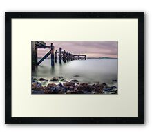 The Old Pier Framed Print